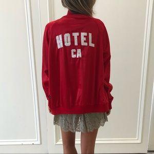 Jackets & Blazers - NEVER WORN Satin Hotel California Bomber